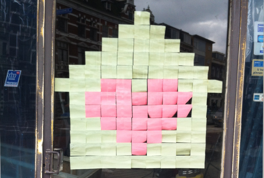 post-it-huis