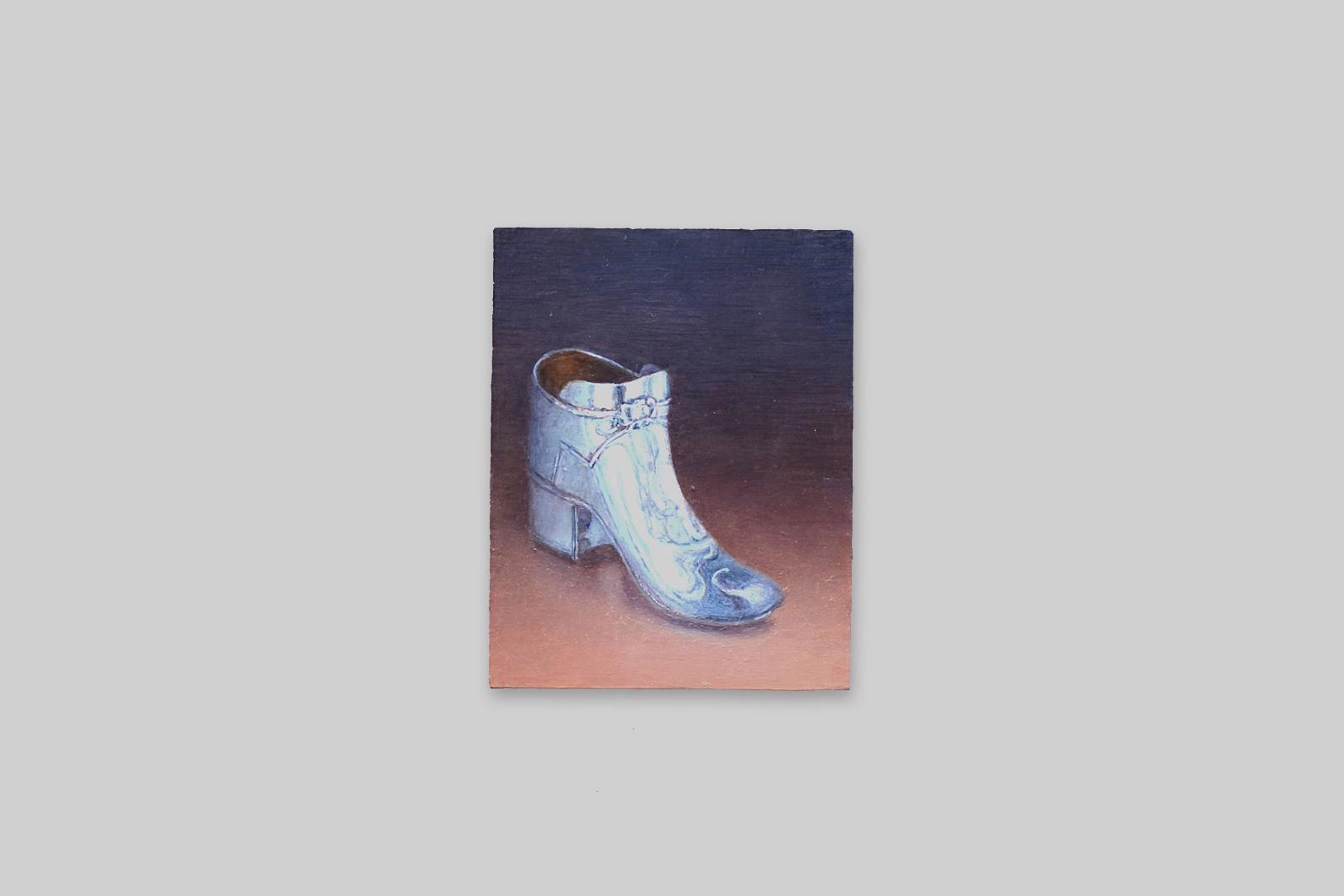 'schoen', 2010, olieverf/paneel, 14 x 11 cm