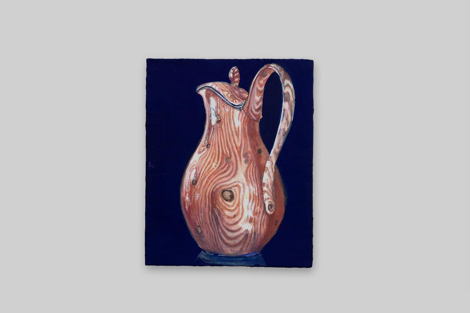 ' kan', 2010, tempera/paneel, 18 x 14,5 cm